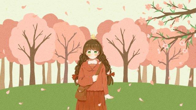ホラー春春分太陽用語春 イラスト素材