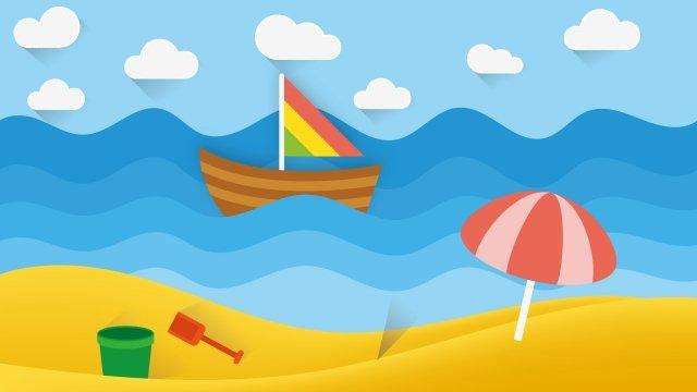 ビーチの娯楽風景イラスト イラスト ビーチの娯楽風景 ビーチ ビーチホリデー ビーチエンターテイメント ビーチの風景 風景イラスト 風景イラスト  ビーチの娯楽風景  ビーチ PNGおよびベクトル illustration image