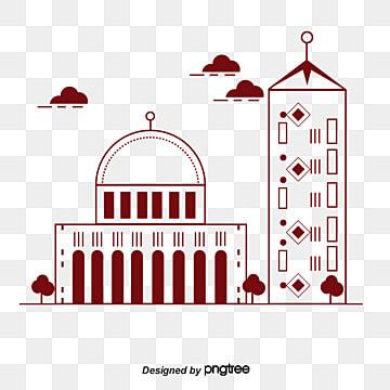 그림 건물 관광 명소 관광 삽화 소재