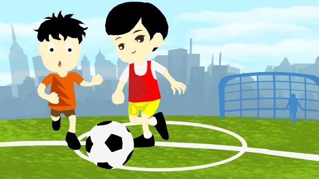 चित्रण गति फुटबॉल आउटडोर चित्रण छवि
