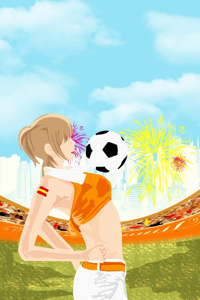 イラストモーションサッカーワールドカップ イラスト素材