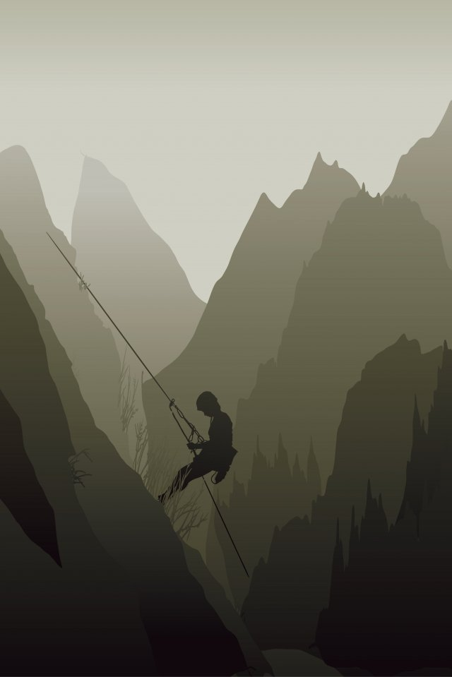 illustration mountaineering rock climbing outdoor sports llustration image illustration image