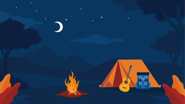 illustration outdoor camping camping llustration image