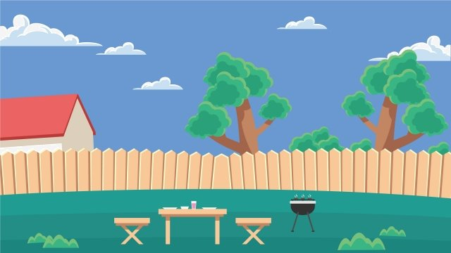 illustration outdoor family barbecue barbecue, Family Gathering, Picnic, Family Picnic illustration image
