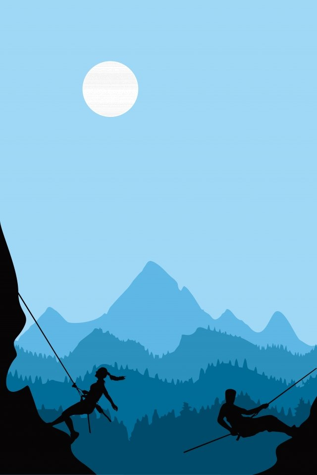 illustration rock climbing sports figure rock climber llustration image illustration image