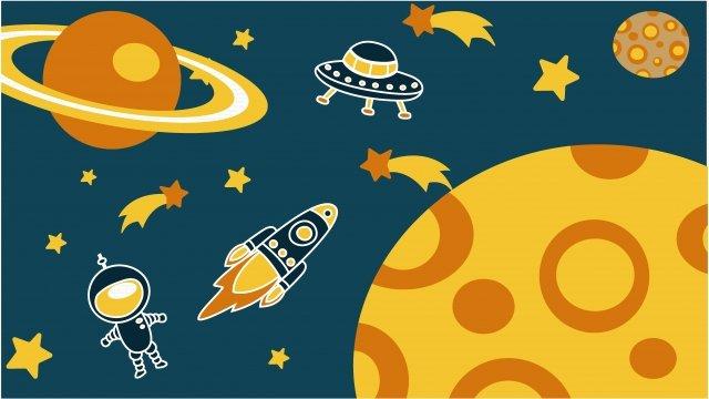 Phim hoạt hình giả tưởng vũ trụ Minh họa Bầu trờiHình  Tàu  Trụ PNG Và Vector illustration image