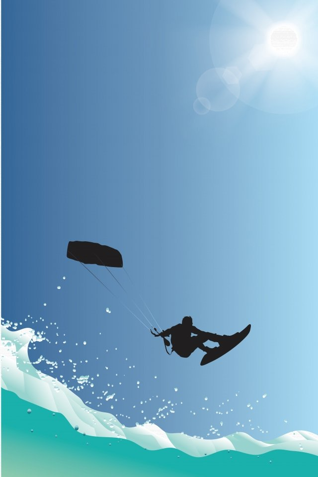 插圖衝浪運動字符 插畫素材 插畫圖片