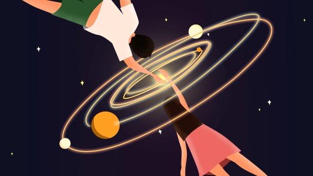 illustration tanabata valentines day in love llustration image