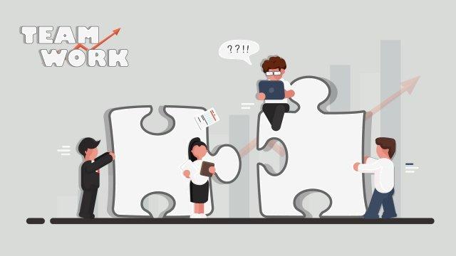 टीम वर्क कार्टून चित्रण को बदलते हैं चित्रण टीम काम इंजीनियरिंग पहेली सहयोग उत्कृष्ट उपलब्धि वृद्धि सफेदपोशचित्रण  टीम  काम पीएनजी और वेक्टर illustration image