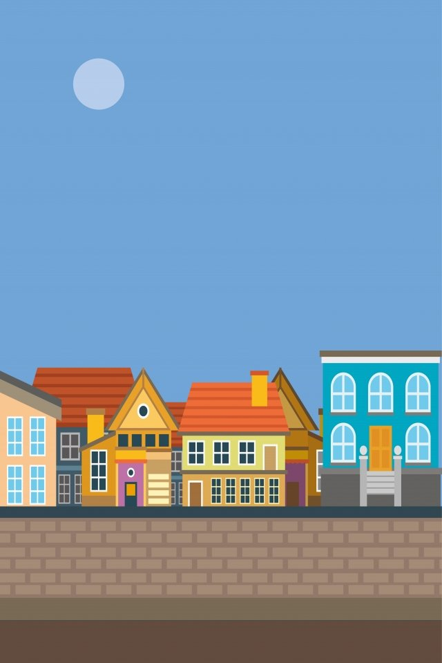 illustration town building small town town building llustration image