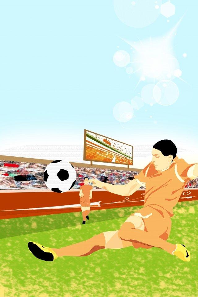 イラストワールドカップサッカー選手 イラスト素材