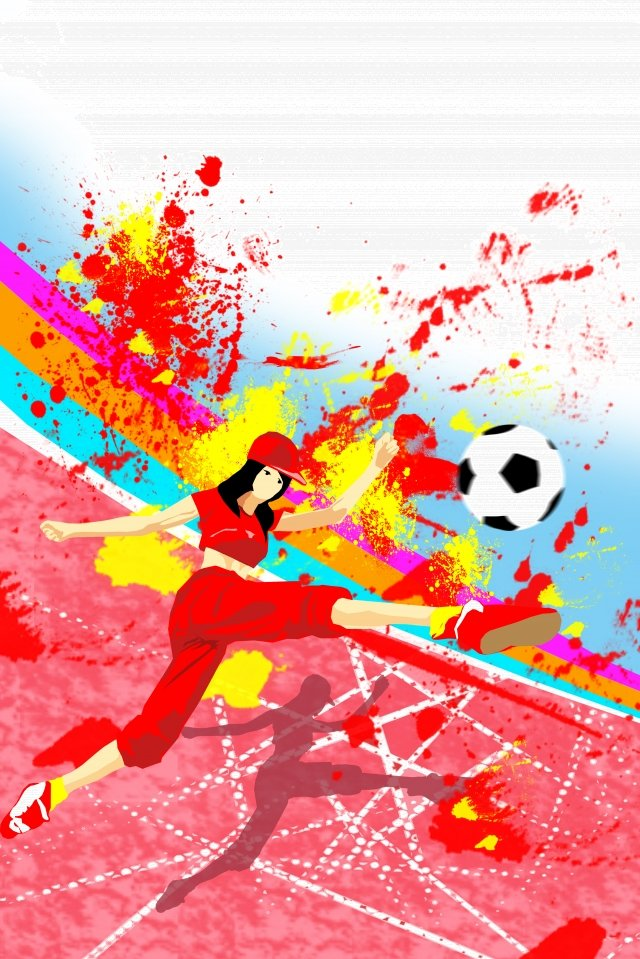 イラストワールドカップサッカーモーション イラスト素材