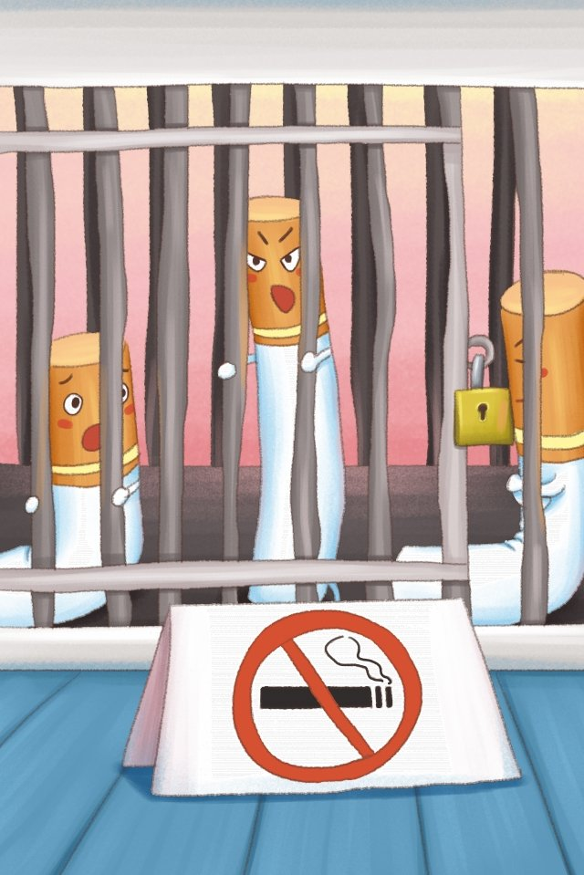 illustration world no tobacco day creative no smoking day, Smoking, Health, Smoking Day illustration image