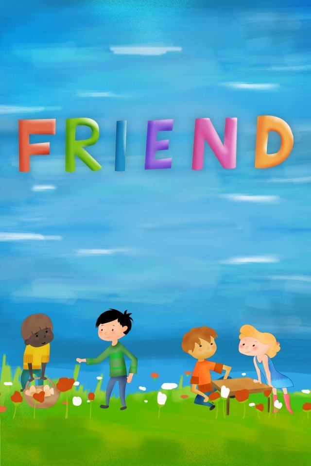 international friendship day background friendship llustration image illustration image