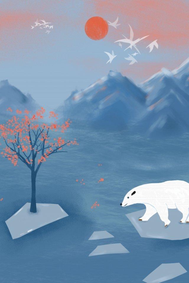 和風の純粋な手描きイラストと美しい風景 和風 純粋な手描き イラスト ゼファー 浮世絵 美しい 癒し系 風景 山川和風  純粋な手描き  イラスト PNGおよびPSD illustration image