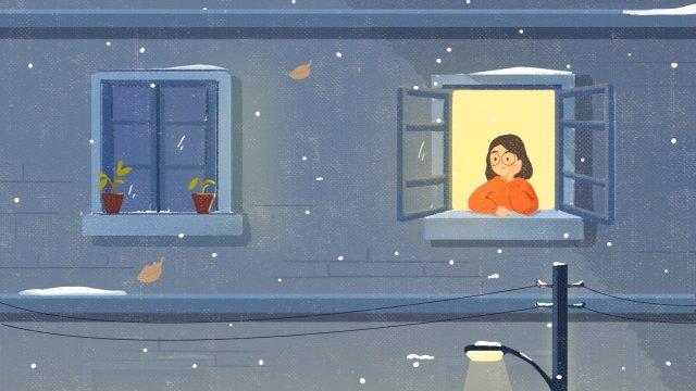 ánh sáng mặt trời tuyết điều khoản phim hoạt hình Hình minh họa