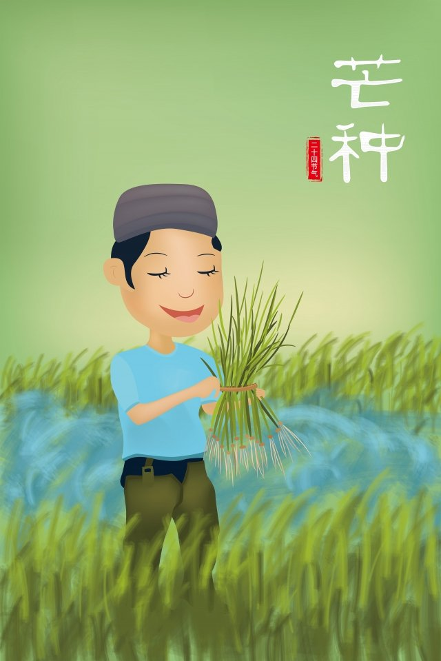 マンゴー種農家手摘み苗24ソーラー用語 イラスト素材