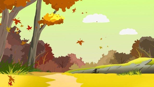feuille dérable feuilles mortes forêt dérable automne image d'illustration