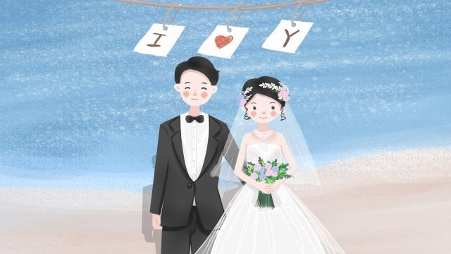 marry wedding wedding bride llustration image illustration image