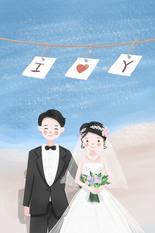 marry wedding wedding bride llustration image