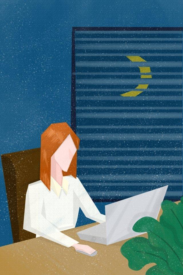 देर रात में 1 श्रम दिन ओवरटाइम कर सकते हैं चित्रण छवि