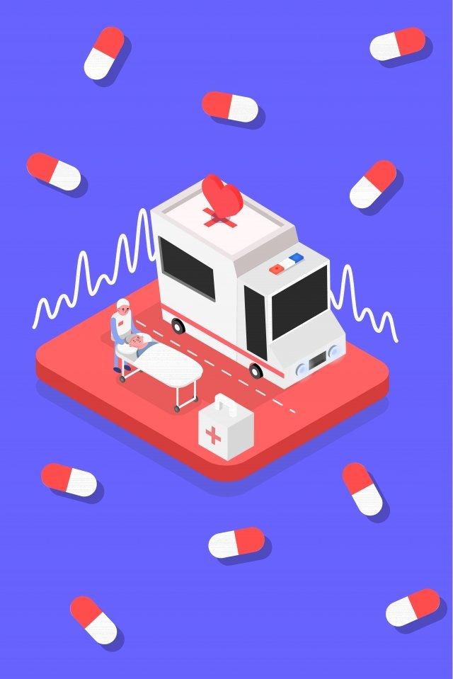 medical medicine health illustration, Isometric, 2 5d, 2 5 illustration image