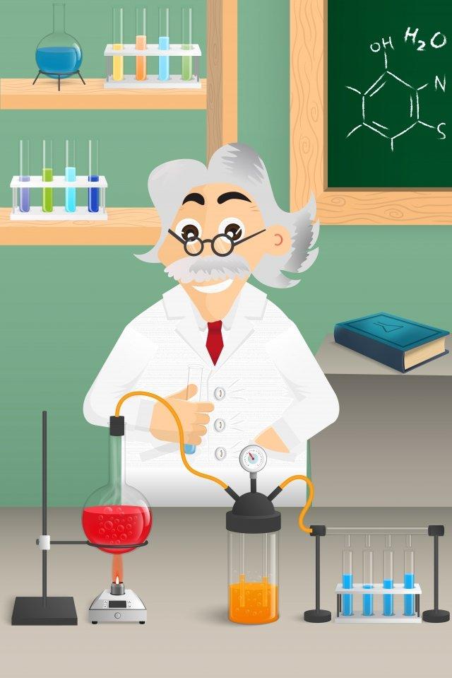 medical pharmacy chemistry lab laboratory, Illustration, Technology, Research illustration image