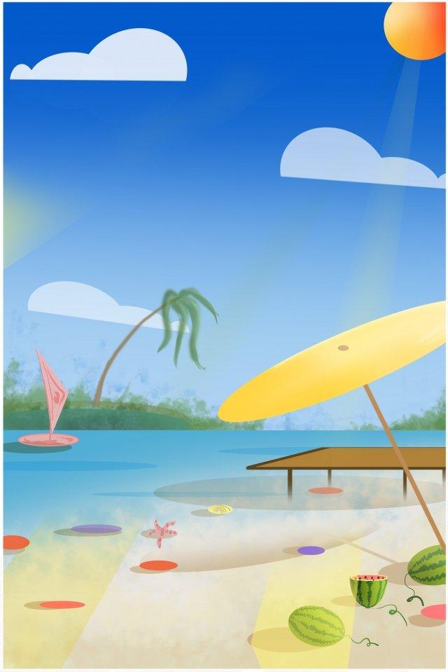幸せな夏、前向きで美しい 真夏 美しい アクティブ 日光 しあわせ アクティブ 単純な クリア 文学 晴れ ポジティブ幸せな夏、前向きで美しい  真夏  美しい PNGおよびPSD illustration image