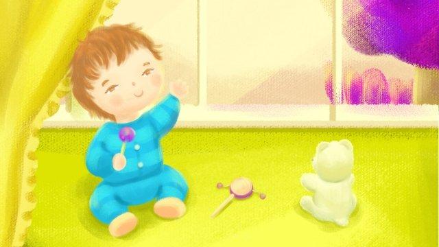 媽媽和寶寶寶寶幼兒寶寶 插畫素材 插畫圖片