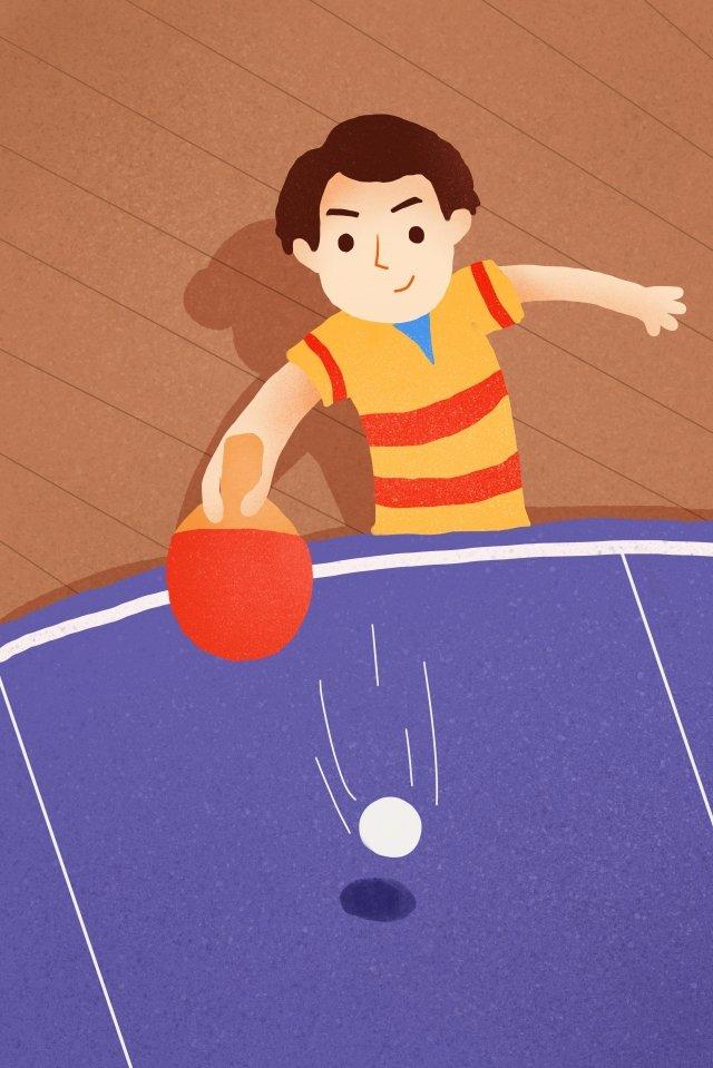 ngày thể thao quốc gia minh họa chơi bóng bàn minh họa Hình minh họa