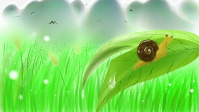 天然の新鮮な初夏の春 イラスト素材 イラスト画像