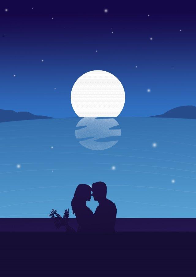 夜旅行観光アウトドア イラスト画像