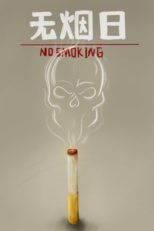 禁煙の日禁煙のタバコ イラスト素材
