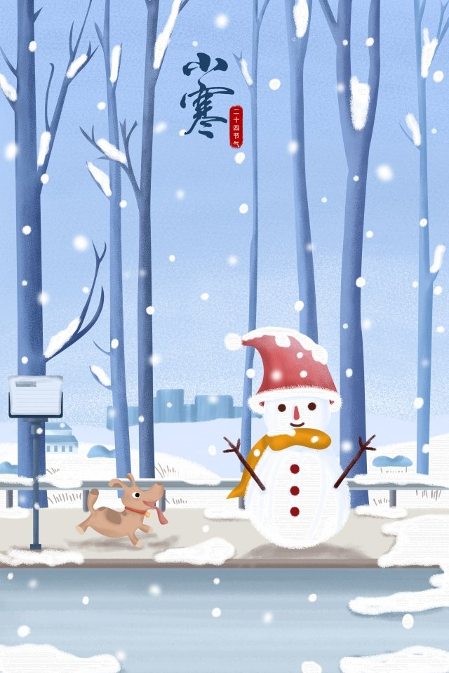 osamu beginning of winter winter solstice snowman llustration image