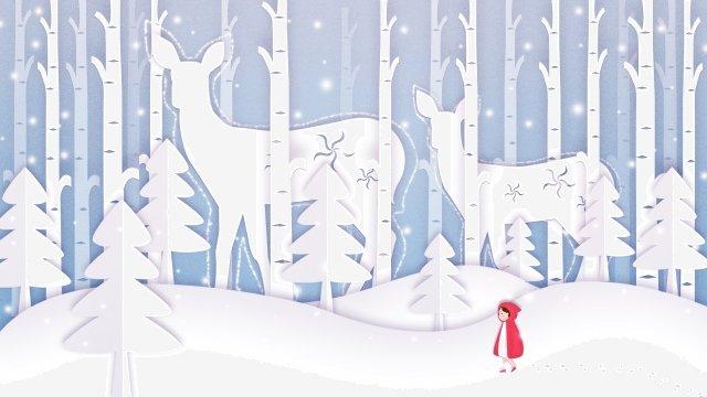 紙カット風太陽用語冬冬 イラスト素材 イラスト画像