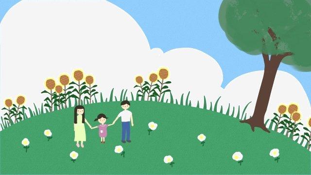 parent child illustration parents child step on llustration image