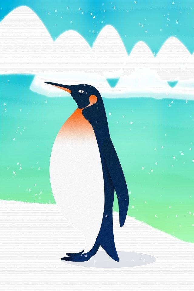 Ilustração de pinguim animal selvagem Pinguim Animais selvagens Antártico Animal Iceberg Pengu antárticoSelvagens  Antártico  Animal PNG E PSD imagem de ilustração