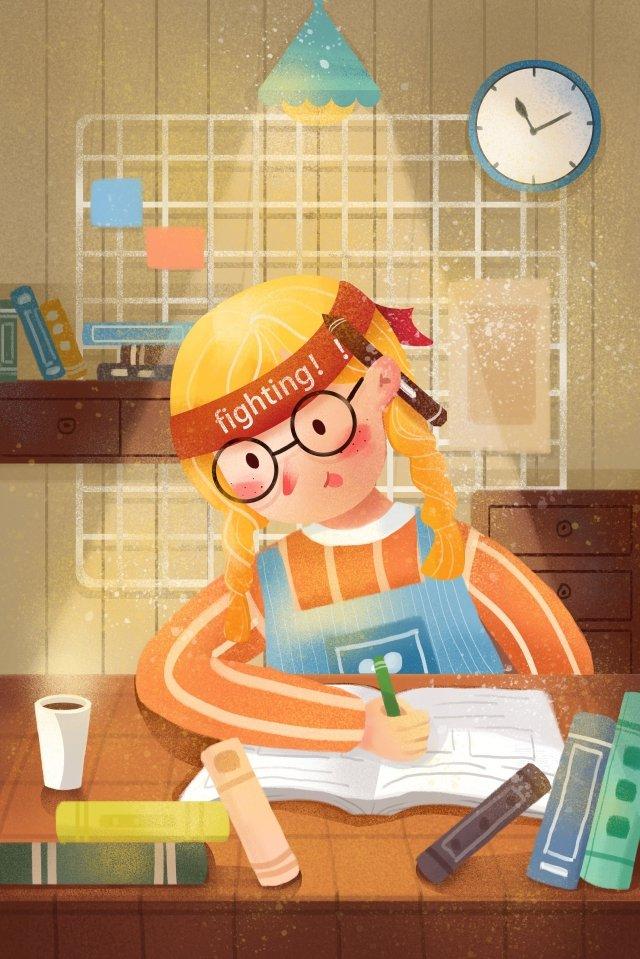 pós graduação aprender ilustração do exame Material de ilustração Imagens de ilustração