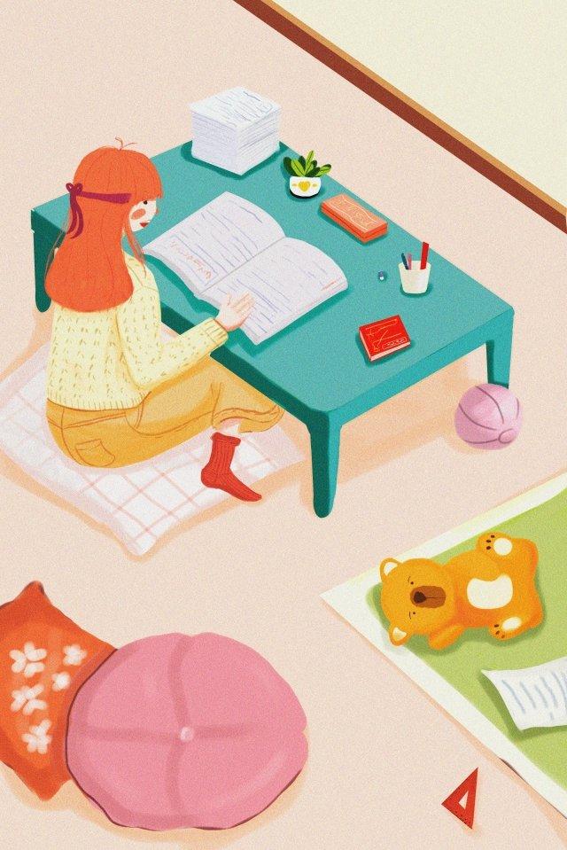 revisão de exame de preparação de pós graduação luta simples Material de ilustração Imagens de ilustração