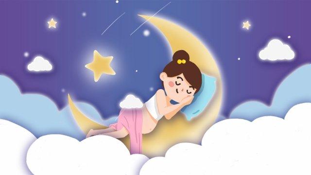 孕婦懷孕健康母親和嬰兒 插畫素材 插畫圖片