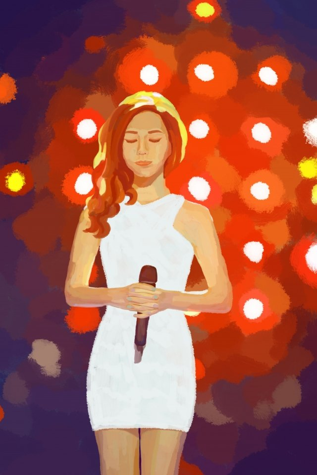 professional character singer illustration career llustration image illustration image