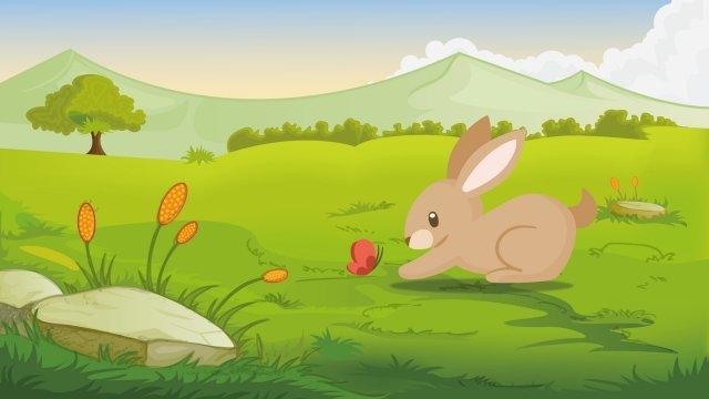 парк кроликов Ресурсы иллюстрации Иллюстрация изображения
