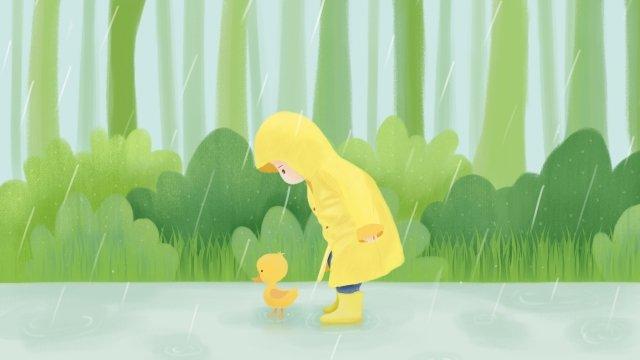 雨水春ソーラーイラストレーター24ソーラー用語 イラスト素材