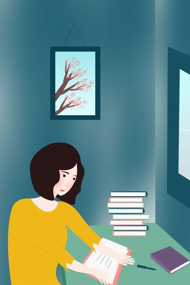 दिन पढ़ने पढ़ने दुनिया शहर दिन पढ़ने चित्रण छवि