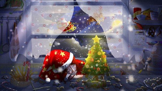 santa، claus، الرنة، اّطفال، تصوير، christmas مواد الصور المدرجة الصور المدرجة