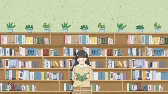 school life high school the university library llustration image illustration image