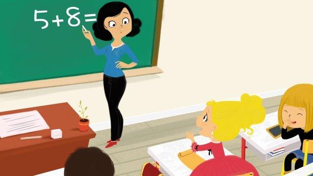 school season class classroom student, Class, Illustration, School Season illustration image