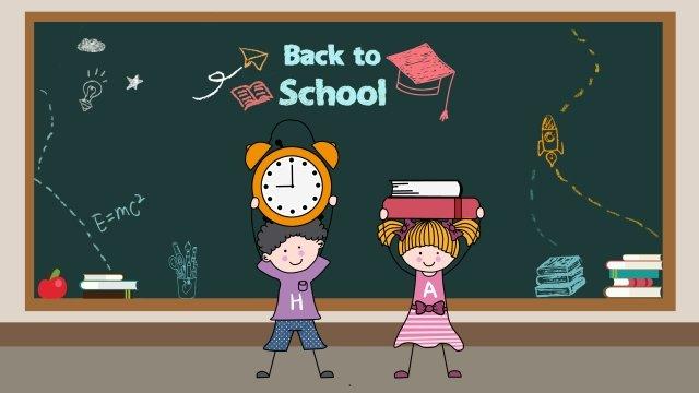school season stick figure illustration child llustration image