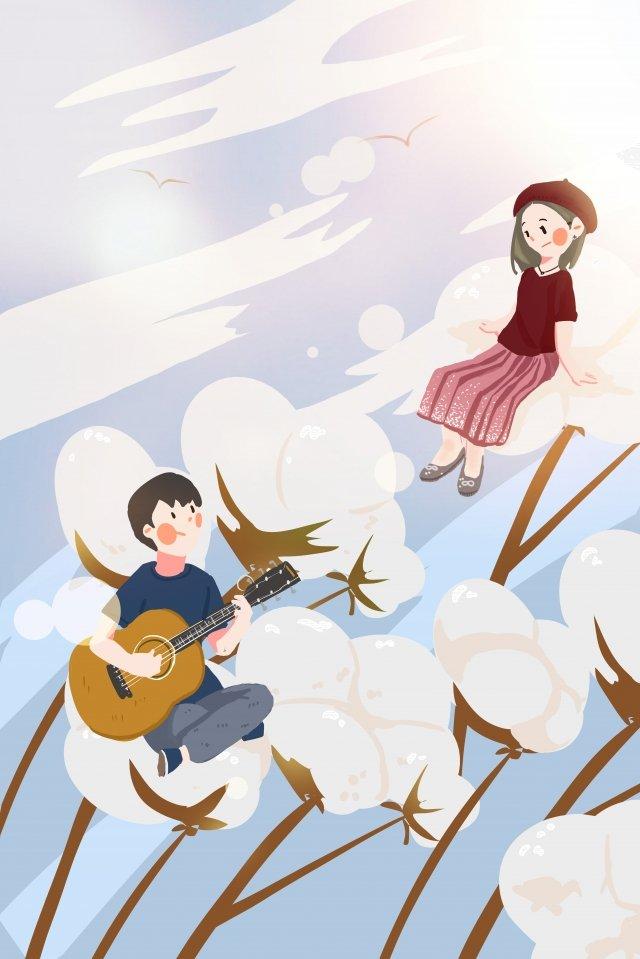 9月こんにちは秋秋 イラスト素材 イラスト画像