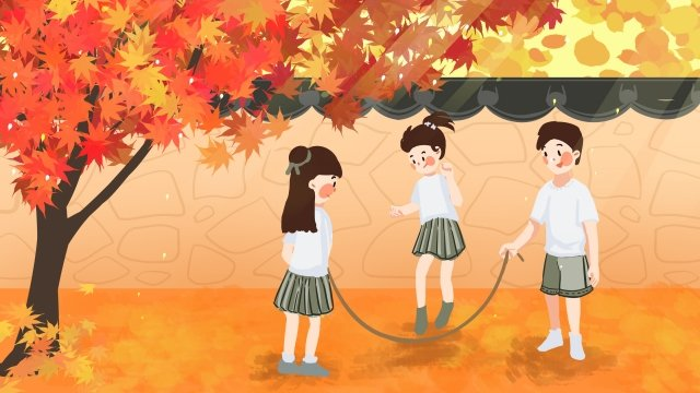 september hello there fall red llustration image illustration image